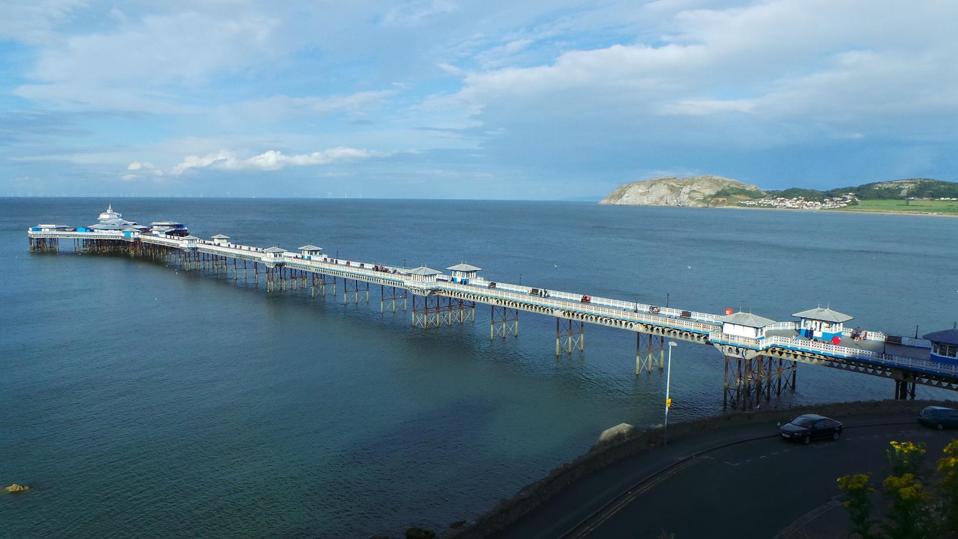 Pier view, Llandudno
