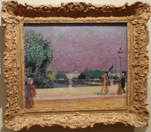 Pierre Bonnard River Scene