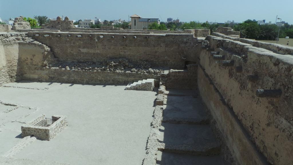 Arad Fort Walls