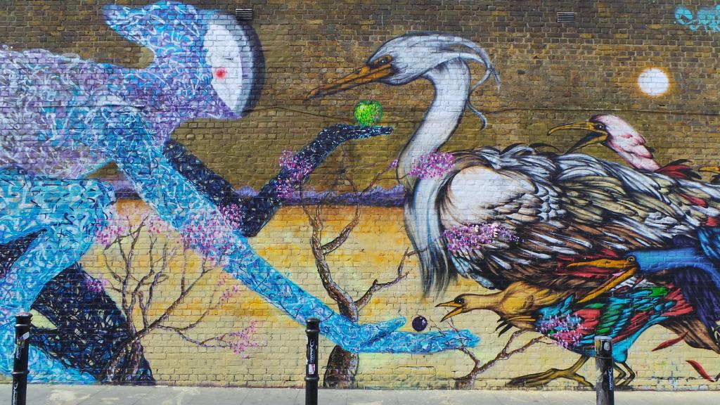 Street art Hanbury Street
